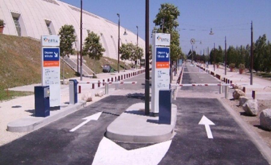 Place de parking, Avignon